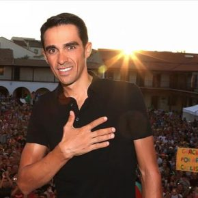 Alberto Contador, gracias por llevar el nombre de Pinto a lo más alto