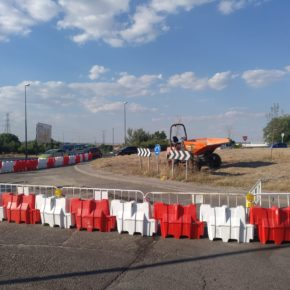 Ciudadanos Pinto consigue mejoras en el asfalto de uno de los principales accesos a la localidad
