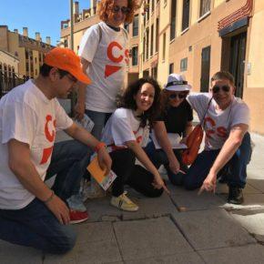 Ciudadanos (Cs) Pinto se compromete a reparar el mal estado de la calzada y las aceras del municipio.