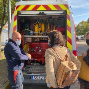 Ciudadanos (Cs) Pinto propone dotar a PIMER-Protección Civil del material necesario para realizar su trabajo y reconocer su labor en el municipio